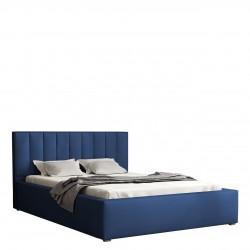 Čalouněná postel s úložným prostorem a roštem Sonden