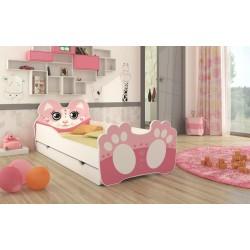 Dětská postel Bear Pink