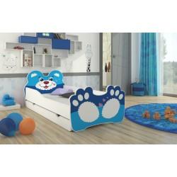 Dětská postel Bear Blue
