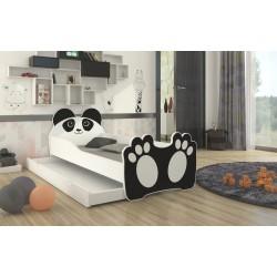 Dětská postel Bear Black