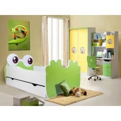 Dětská postel Bear Green