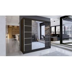 Šatní skříň s posuvnými dveřmi TALIN 5 - 180