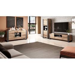 Nábytek do obývacího pokoje WOOD 2