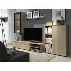 Rustikální sestava nábytku Maty - dub sonoma