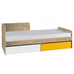 Vyjímečná postel s matrací Evra 2