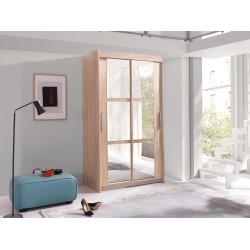 Zrcadlová skříň Karo široká 100 cm