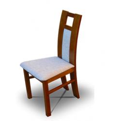 Jídelní židle s dekorativním opěradlem Ela
