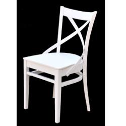 Jídelní židle Lavanda v bílé barvě