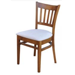 Žebrovaná jídelní židle Vlasta
