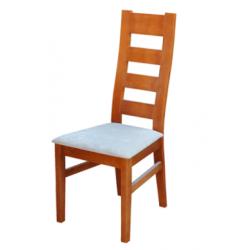 Jídelní židle s průřezy na opěradle Lída