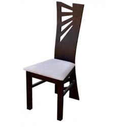 Jídelní židle s originálním opěradlem Simone