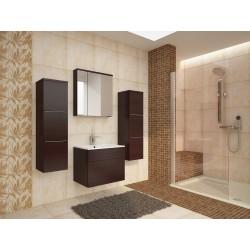 Designová koupelnová sestava Lea - wenge