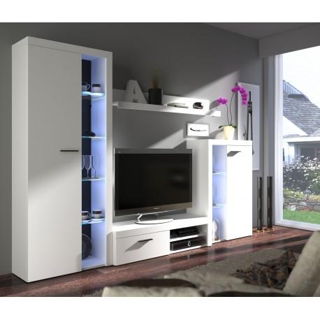 obývací stěna Claudi - bílá