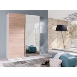 Moderní šatní skříň Batumi 150 se zrcadlem