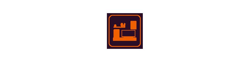 Obývací stěny, komody,  skříně, stolky, postele